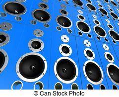 stock illustration  sound wave  rendered