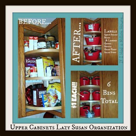 organizing corner kitchen cabinets lazy susan kitchen cabinet organization tips tricks on 3791