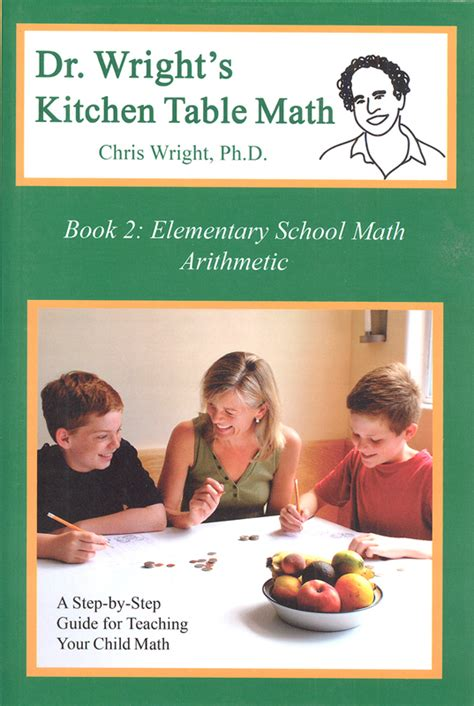 kitchen table book 2 dr wright s kitchen table math book 2 054092 details