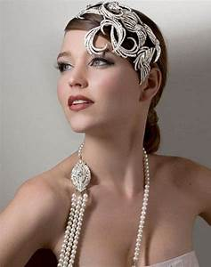 Great Gatsby inspired hairstyles and Hair accessories ...