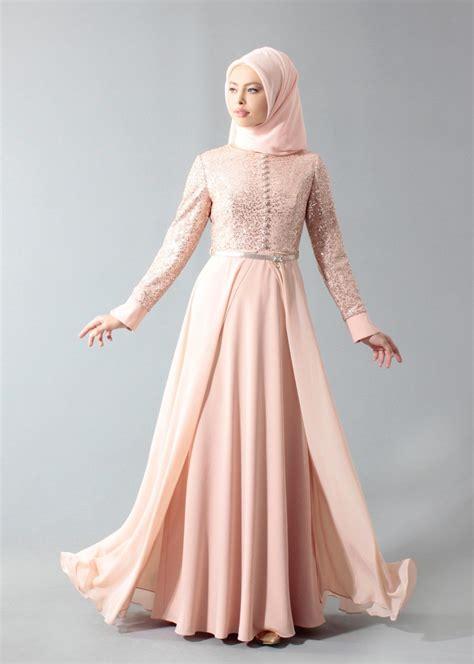 model gamis pesta brokat kombinasi satin   dress