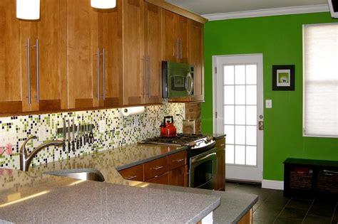 bright green kitchen for your buck hgtv 1799