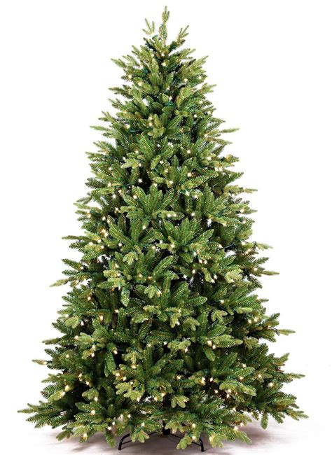 6 foot scarlet fir artificial christmas tree led clear