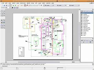 Librecad: Creating a detailed design drawing for a