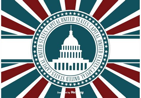 US Capital Retro llustration - Download Free Vectors ...