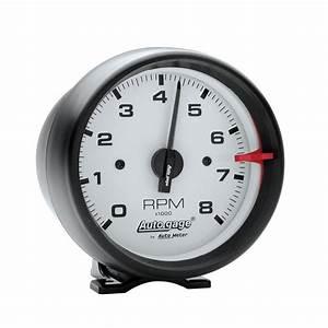 Auto Gage U00ae 3 4 U0026quot  Pedestal Tachometer  0