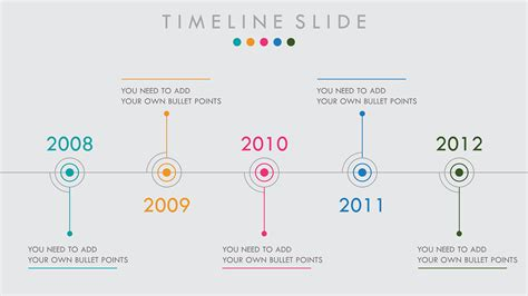 timeline  powerpoint template  behance