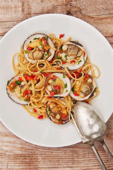 linguines aux amandes de mer recette facile la cuisine