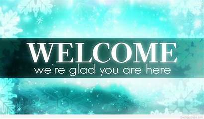 Welcome Wallpapers Backgrounds Welcoming Powerpoint Winter Patients