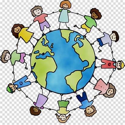 Clipart Human Transparent Race Background Cartoon Circle