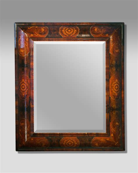 antique mirrors antique marquetry cushion mirror large cushion mirror inlaid cushion mirror antique wall