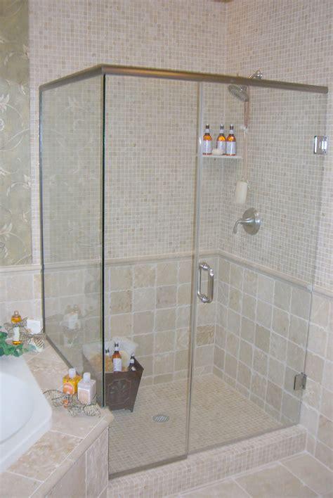 shower glass panel ideas   small bathroom
