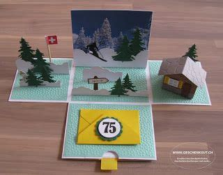 geschenkbox ueberraschungsbox explosionsbox snowboard