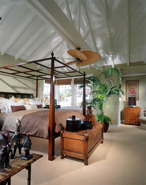 Tropical Bedroom Pictures by Startling Tropical Ceiling Fans Decorating Ideas