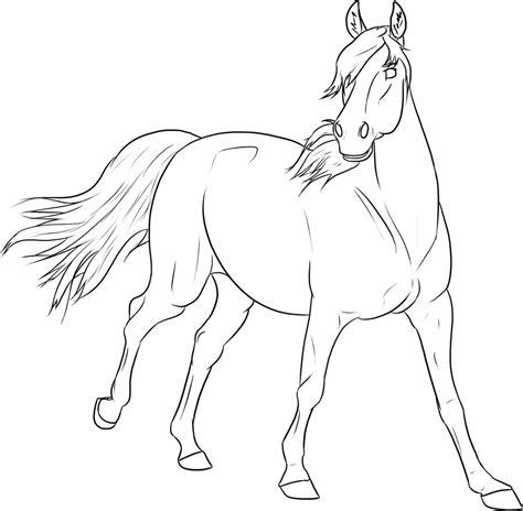 Dieren Kleurplaten Paarden by Paarden Kleurplaat Dieren Kleurplaat 187 Animaatjes Nl
