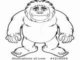 Bigfoot Coloring Pages Drawing Finding Getdrawings Coloringhome Comments sketch template