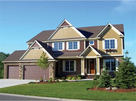 craftsman style house plans two luxury craftsman style home plans 2 craftsman style