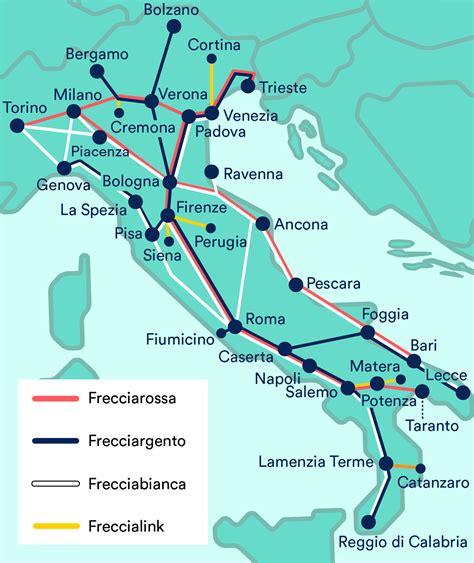 trains  italy trenitalia italo  thello trainline