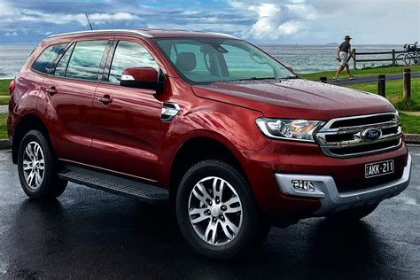 ford trend ford everest trend rwd 2017 review carsguide