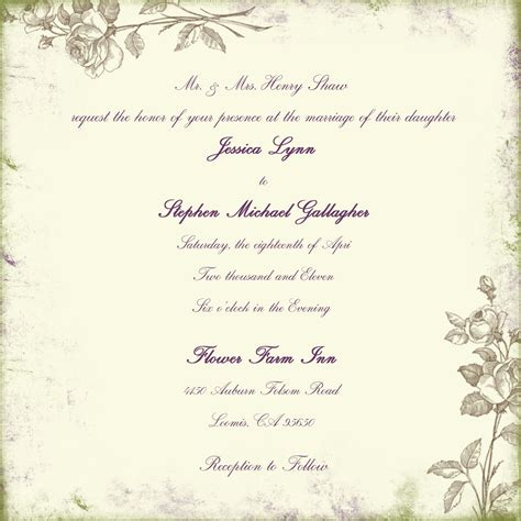 Dili's Blog Sample Of Wedding Invitation