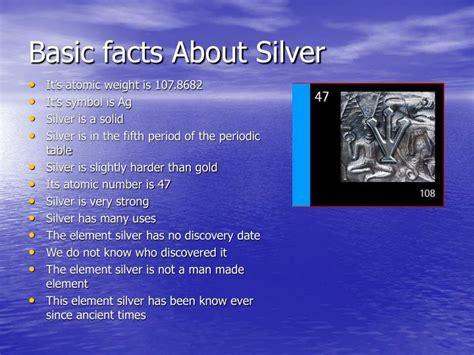 Silvers Periodic Symbol