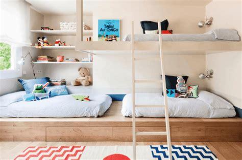 Idee Deco Chambres - 30 idées pour aménager une chambre partagée par plusieurs