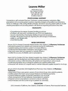 professional pharmacy technician templates to showcase With pharmacy technician resumes templates