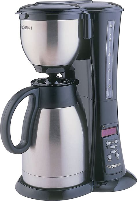 zojirushi  cup fresh brew thermal carafe coffee maker