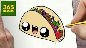 Comment Faire Des Tacos Maison : comment dessiner taco kawaii tape par tape dessins kawaii facile youtube ~ Melissatoandfro.com Idées de Décoration