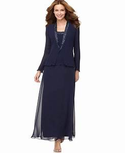 patra dress and jacket bead accent evening dress macy39s With macy s formal dresses for weddings