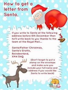 free printables letter to santa templates and how to get With how do i get a letter from santa