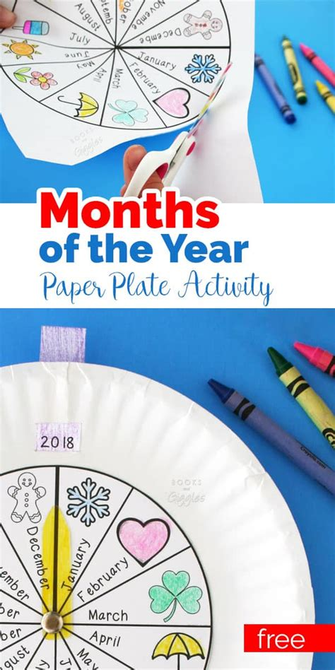 Months of the Year Activity They'll Love (and so will you!)