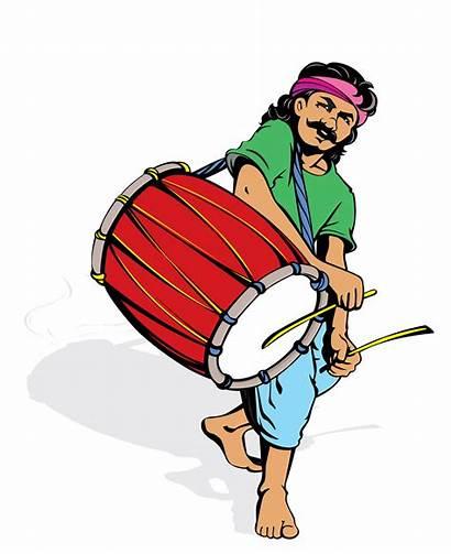 Clipart Dhol Dholak Instruments Musical Pixabay Transparent