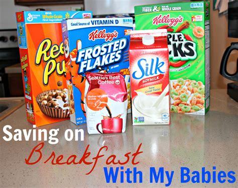 Saving On Breakfast With My Babies Sarah Rae Vargas