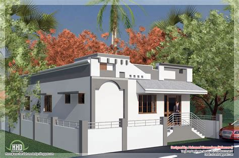 single house designs tamilnadu style single floor house in 1092 sq house design plans