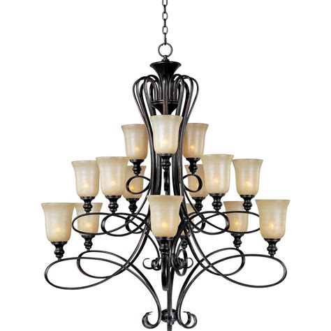rubbed bronze chandelier maxim lighting infinity 15 light rubbed bronze multi
