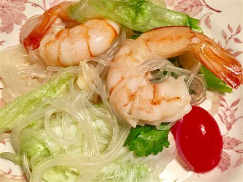Tropical thai spicy and sour seafood salad. Recipe - Spicy Thai Shrimp Salad - Chefpangcake