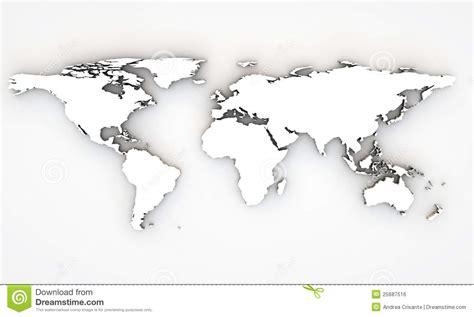 Carte Du Monde 3d by Carte Du Monde 3d Image Libre De Droits Image 25687516