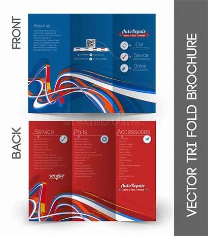 Fold Tri Brochure Corporate Leaflet Flyer