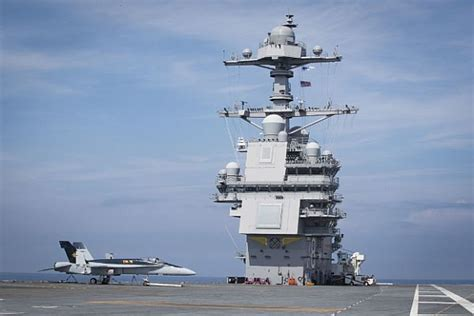 uss gerald  ford begins post shakedown availability