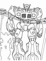 Coloring Printable Pages Colouring Transformers Templates Template sketch template