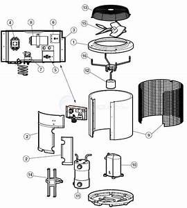 Hayward Heat Pro Heat Pump Hp380  Hpabg Parts