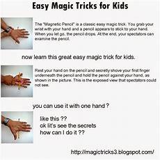 Magic Tricks Easy Magic Tricks For Kids  Magnetic Pencil
