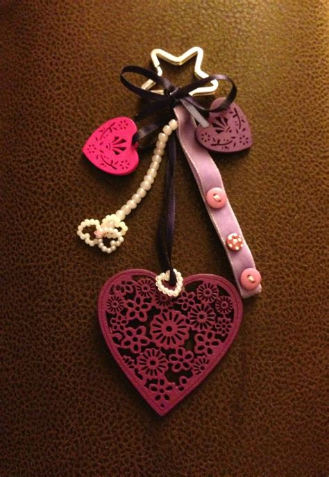 handmade keychain  bag detail