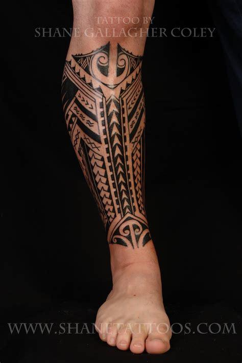maorie bein poly tribal leg tattoos search polynesische