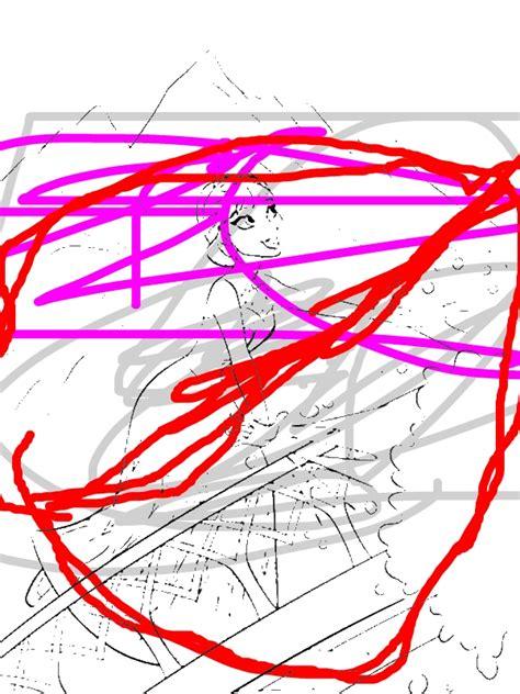 elsa making snow   magic power coloring page