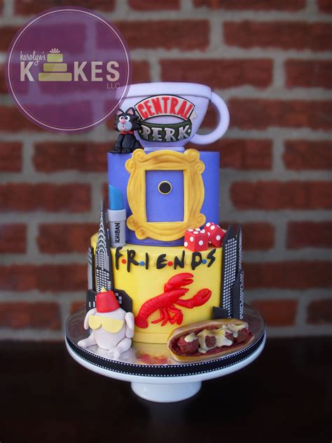 Cake Decorating Shows On Tv - friends tv show kake i was so excited to make my 3rd