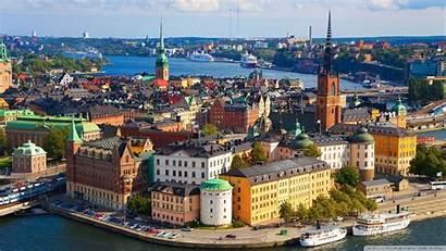 Europe Stockholm Sweden Wallpapers Cities Desktop Background