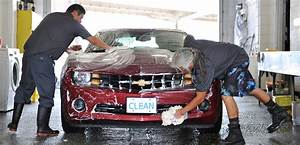 Who Washes Cars Better  Man Or Machine