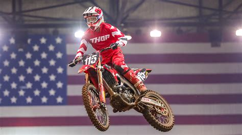 fox sports  air  kicker arenacross winter series